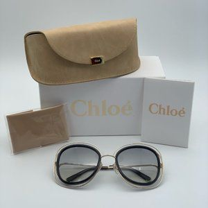 Brand NEW Chloe  CE123/S 731 Oversized Sunglasses